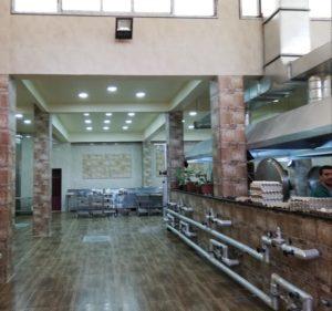 الانتهاء من تجهيز قسم المطبخ في مشفى حلب الجامعي